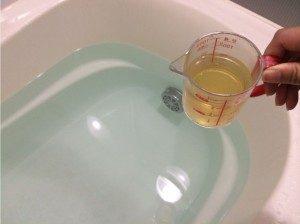 お風呂 酢